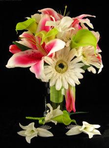 OEMデザイン人工的な実質の接触花