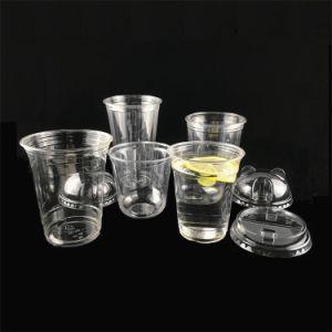 Custom U Apagar biodegradáveis compostável PP descartáveis de plástico de PLA PET