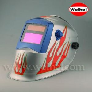 太陽動力を与えられた自動暗くなる溶接のヘルメット(WH8511126)