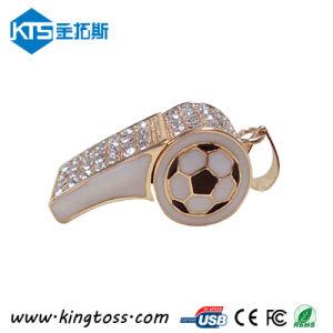 ワールドカップの昇進のギフト笛USBのフラッシュ駆動機構