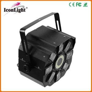 最も新しい4*3W RGBWA LED Moonflowerの段階効果ライト