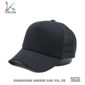 Painel 5 Caminhoneiro personalizado Hat Blank malha preta Hat Baseball