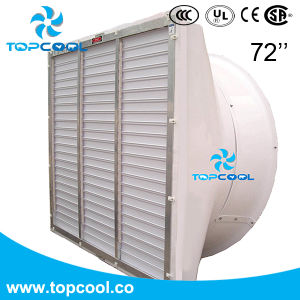 Une grande efficacité GF 72 de produits laitiers d'échappement du ventilateur du système de refroidissement