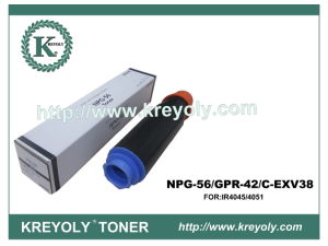 Kopierer-schwarzer Toner für Canon NPG-56/GPR-42/C-EXV38