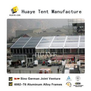 800 Pessoa Estrutura Retângulo de alumínio ver através da Tenda de eventos