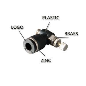 Los componentes neumáticos de latón con un toque de aire Rápido montaje8-02 (PL)