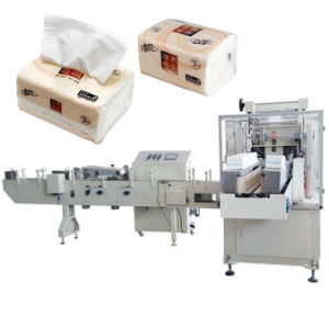 Máquina de sellado de tejido Facial Servilleta pañuelo de papel de la máquina de embalaje