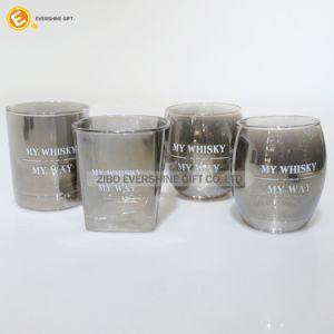 Vetro bevente di vetro del whisky di alta qualità