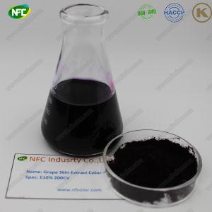 Gesundheitspflege organische Resveratrol Puder-Trauben-Haut-Auszug-Farbe