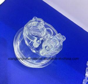 Materiaal Op hoge temperatuur van de Hars van de injectie het Transparante en olie-Bestand Nylon