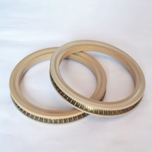 De gevulde Verbindingen Met veerwerking van de Glasvezel PTFE