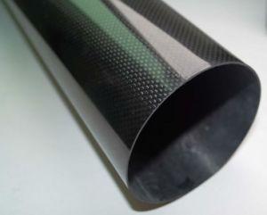 1K 80g-140g plaine bidirectionnel de tissus de fibre de carbone de la conception de l'équipement de sport