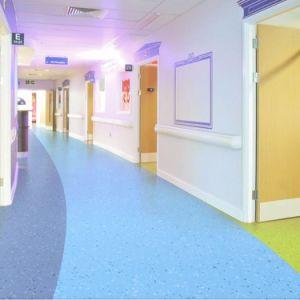 Pavimentazione omogenea zero del PVC per l'ospedale