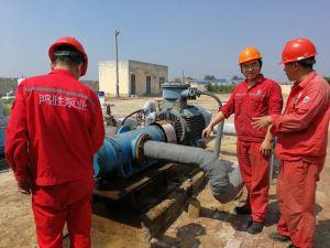 Les ingénieurs en Chine National d'entrepôt de stockage de l'huile de la mise en service