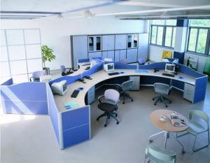 Divisorio moderno dell'ufficio della stazione di lavoro della persona di pagina 3 del metallo (SZ-WST634)