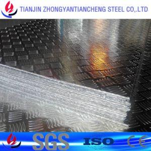 3003 1060 5052 La plaque de la voie d'aluminium dans cinq Bar/Stock à trois barres en aluminium