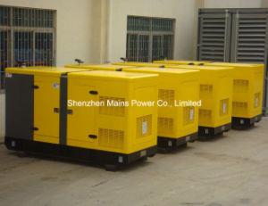 generatore diesel BRITANNICO di potere standby di 250kVA 200kw insonorizzato