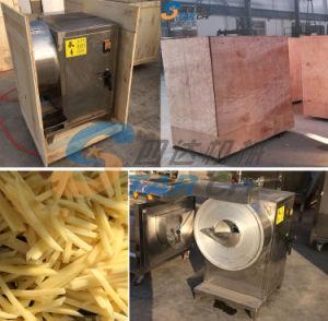 Elaboración de hortalizas para cortar en rodajas de patatas chips de la máquina