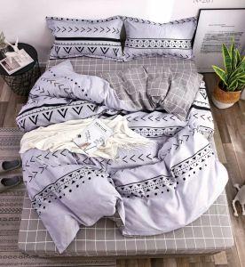 Tecido de poliéster impresso Bedroomset roupa personalizada