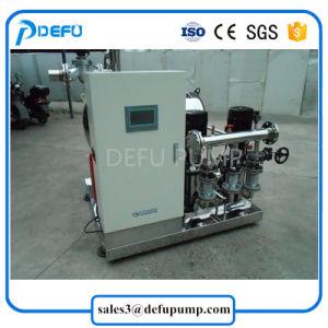 La construcción de equipos de suministro de agua Bomba multietapa Booster con tanque de presión vertical