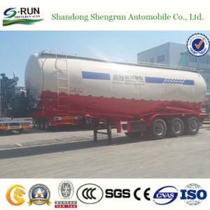 Shengrun 3 Semi Aanhangwagen van de Tank van het Cement van de Vorm van Assen W de Bulk