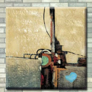 Pintura decorativa personalizada pintura a óleo DIY pintura abstracta de lona