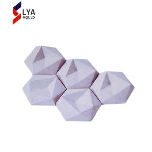 シリコーンゴムの型によって作られる装飾的な連結のレンガ壁型にパネルをはめるため