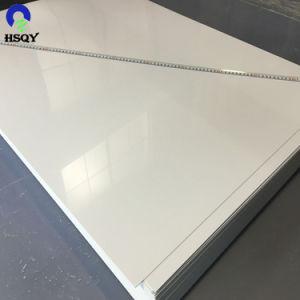 100%の絹の印刷のための不透明な0.25mm光沢のある白PVCシート
