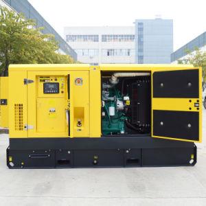 Бесшумный дизельный генератор с двигателем Cummins
