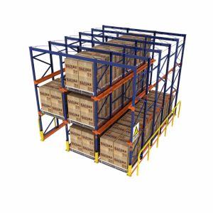 Système de stockage en rack pour l'entrepôt