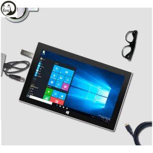 Het fzb-Stootkussen van de vos 7s 10.8  IPS 1080P Tablet 2 van het Scherm in de Tabletten HDMI van 1 van Vensters van de Tablet van PC van Intel van de Kers van de Sleep Z8350 4GB Emmc van de RAM 64GB