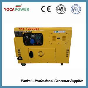 Generatore elettrico raffreddato aria portatile di piccola potenza di motore diesel 8kw