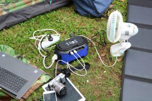 ホームか屋外の携帯用インバーター発電機222whのバックアップ太陽発電機
