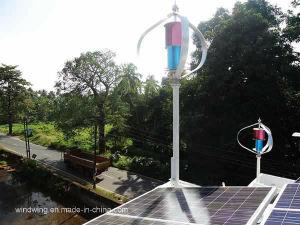 600 W de potencia del generador eólico de eje vertical con certificado CE