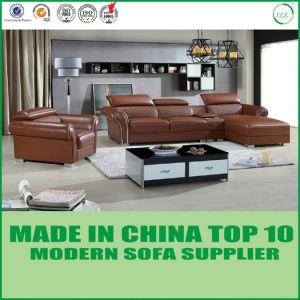 Neuer Entwurfs Modernes Wohnzimmer Leder Sofa Set