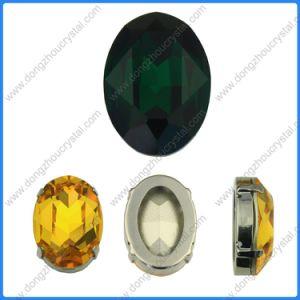 Element 3002 van het Kristal van Sw de Straal Ovale Buitensporige Veranderlijke Kleur/de Grootte van de Steen Cabochon
