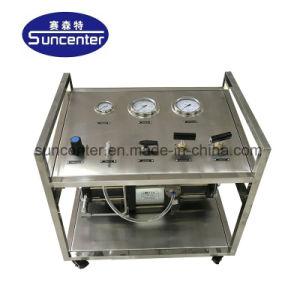 Neumática Suncenter Líquido químico Bomba de inyección de presión de sobrealimentación