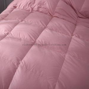 ホーム織物新しいファブリック100%年の綿の白いアヒルの羽毛布団