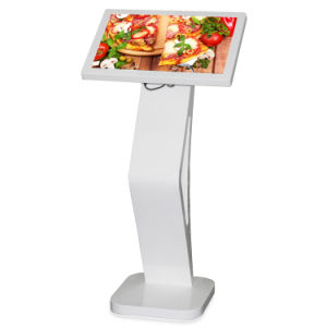Signage van 18.5 Duim HD de Digitale LCD Kiosk van het Scherm van de Aanraking van de Informatie van de Speler van de Reclame van het Netwerk van de Vertoning voor het Menu van het Restaurant