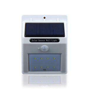 LED-menschliches Induktions-Yard energiesparendes SolarFarden Zaun-Licht