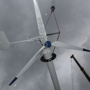 10kw Baixa Velocidade do Vento Windmill para House, Fazenda, bombear água