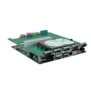 PC embutida industrial de I3-3217u Fanless mini con la fuente de corriente continua de COM 6