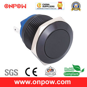 Onpow 19mm Metal Pushbutton Switch (GQ19F-10/J/A、CCCのセリウム、RoHS Compliant)