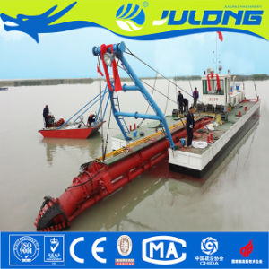 Draga idraulica di aspirazione della taglierina della draga della sabbia del fiume di Qingzhou Julong da vendere