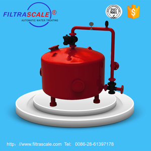Filtrascale Automatic Back Flushing Sand Filter per Irrigation