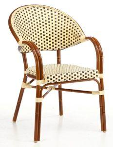 De Aluminio estilo americano de bambú de mimbre Rattan Silla de ...