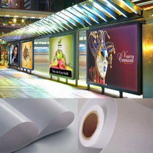 Flex Banner PVC flexible retroiluminado.