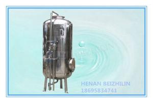 La caja del filtro de agua de acero inoxidable