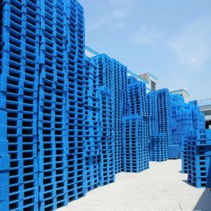 Face Única Virgem de HDPE/PP Euro palete de plástico para Transporte