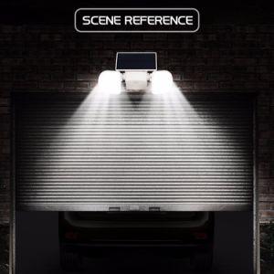 LED Solar-IP65 imprägniern im Freien energiesparendes doppeltes Hauptlicht
